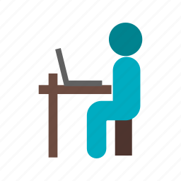 college, computer, laptop, school, student, tablet, technology icon