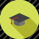 cap, ceremony, diploma, graduate, graduation, professor, students