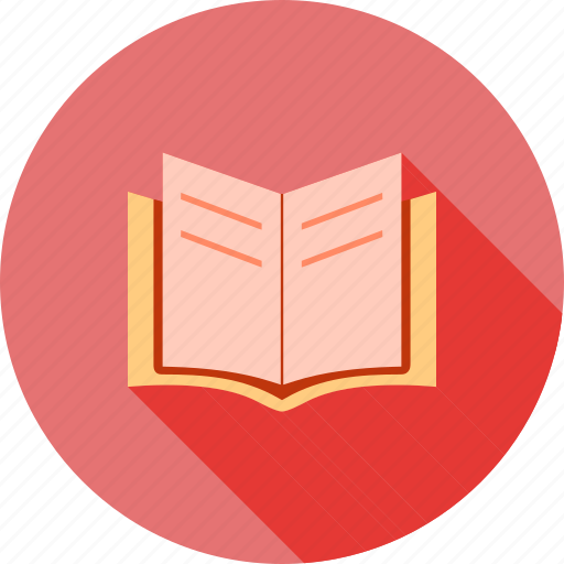 book, education, notebook, notes, pages, read, study icon