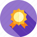 award, badge, medal, prize, rating, star, success icon