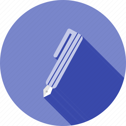 ball point, equipment, fountain pen, pen, scribble, tool, write icon