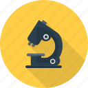 equipment, experiment, magnify, microscope, research, scientific, slides icon