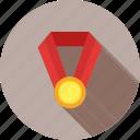 award, badge, first position, medal, medallion, trophy, win