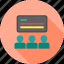 blackboard, classroom, lecture, school, students, teach, teacher