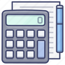 education, calculator, calculate, math icon