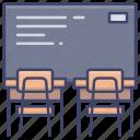 board, classroom, education, lesson icon