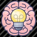 brain, creativity, idea, innovation icon