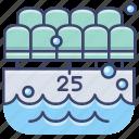 pool, sports, swim, swimming icon