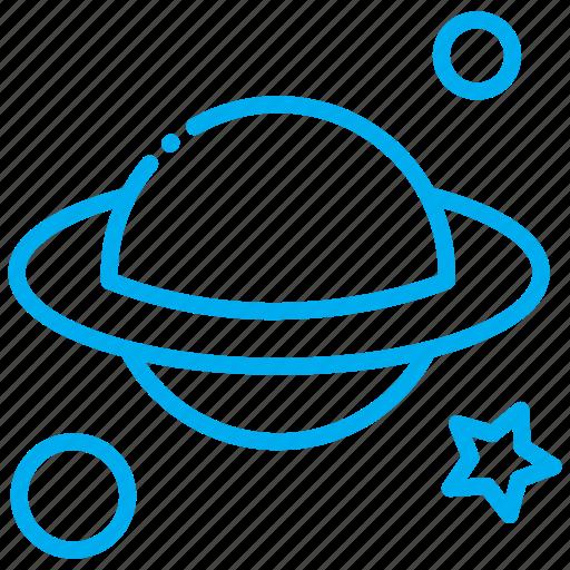 astronaut, astronomy, orbit, science, space icon