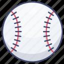 baseball, sports, glove, game icon