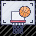 ball, basketball, sport, game icon