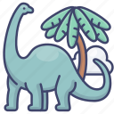 animal, biology, dinosaur, science icon