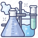 chemistry, education, experiment, lab icon