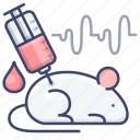 lab, mouse, rat, science icon