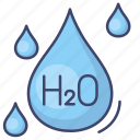 molecule, water, science, chemistry icon