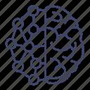brain, mind, neuro, psychology icon