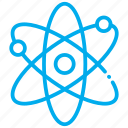atomic, nuclear, physics, science icon
