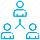 information, persons, replace, sharing, student, talking icon