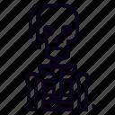 anatomy, bone, skeleton icon