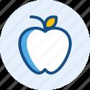 apple, education, food, fruit, school