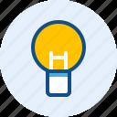 bulb, education, idea, school, smart icon