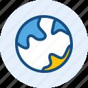 education, globe, school, world icon