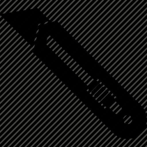 blade, dagger, paper knife, trim icon