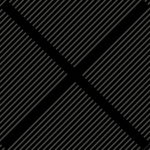 cross, igno, no, wrong icon