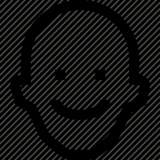 avatar, face, happy, profile, school, student, teach icon