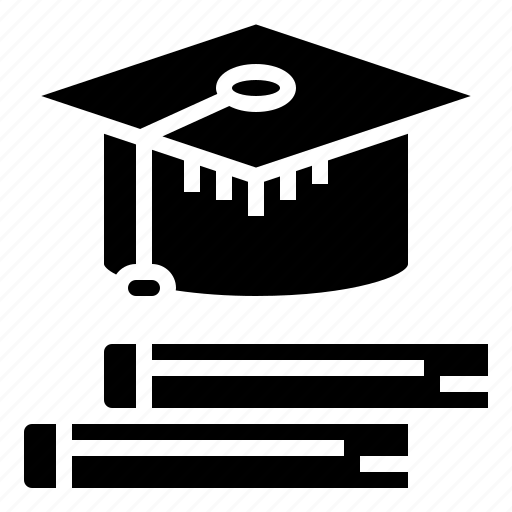 cap, education, graduate, hat, student, students, university icon