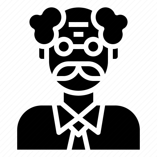 avatar, educator, jobs, man, professions, professor, teacher icon