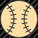 ball, baseball, softball, sport icon