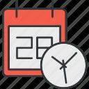 calendar, semester, time icon