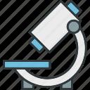 microscopic, microscopy icon