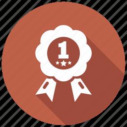 achievement, award, prize, star icon