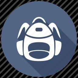 backpack, rucksack icon