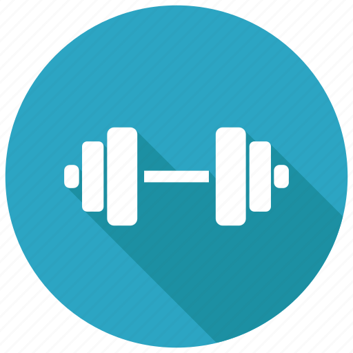barbell, dumbbell, gym, weightlifting icon