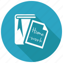 assignment, essay, homework icon
