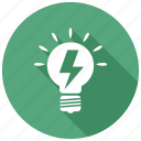 idea, innovation, lightbulb icon