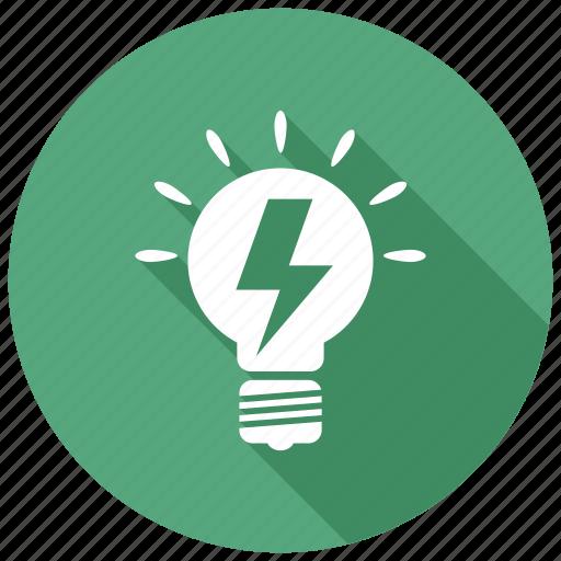 idea, innovation, lightbulb icon