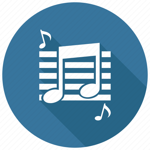 audio, music, note icon