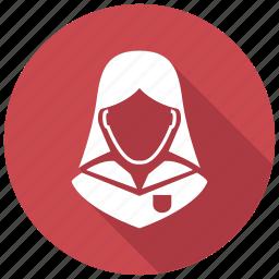 pupil, schoolgirl, student icon