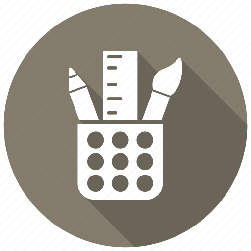 desk, office, stationery icon