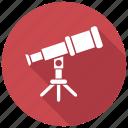 lens, planetarium, telescope icon