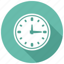 clock, wall, watch icon