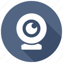 cam, camcorder, webcam icon