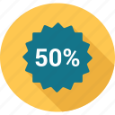 discount, fifty, offer, sale