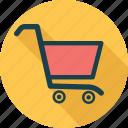 shop, bag, shopping cart, cart