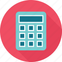 calculator, figures, math icon