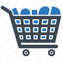 cart, empty trolly, shopping trolly, trolley icon